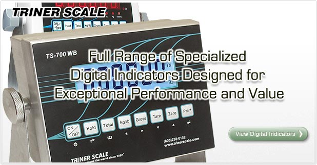 Digital Indicators for Floor Scales