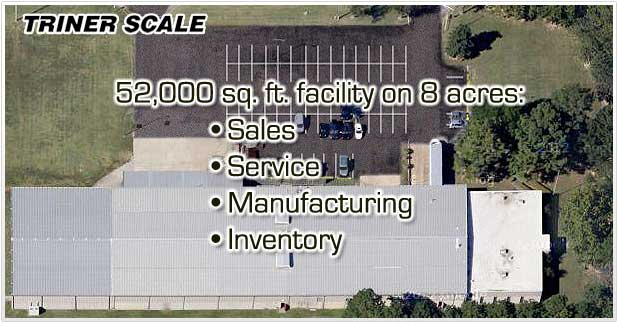 Triner Scale Industrial Scales Facility